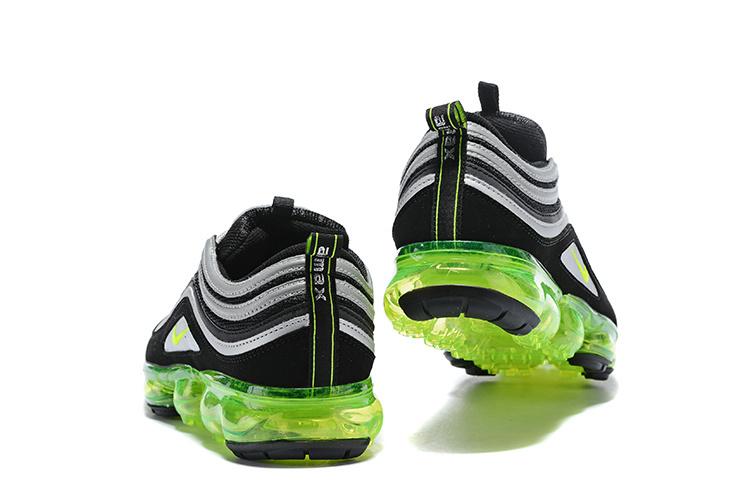 best website 88d89 703b0 Nike Air VaporMax 97 Silver Bullet Black Metallic Silver White Volt Women's  Men's Running Shoes AJ7291-001