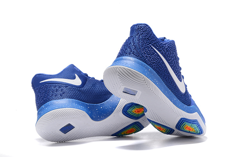 912e3e41fd677 Nike Kyrie 3 III EP Irving Royal Blue White Men s Basketball Shoes ...