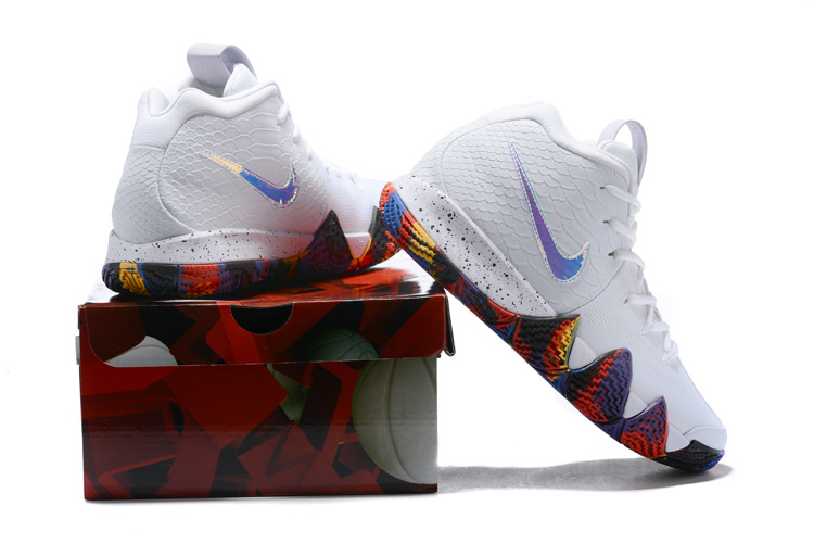 newest 88996 076bd Kyrie 4 EP NCAA Tournament White ...