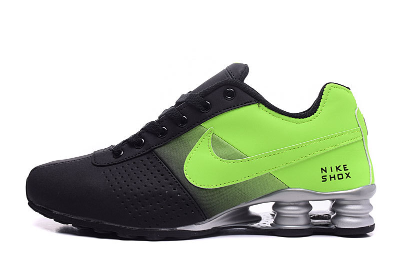 cdf346325a Nike Shox Deliver Black Green NZ Men s Running Shoes NIKE-ST000356 ...