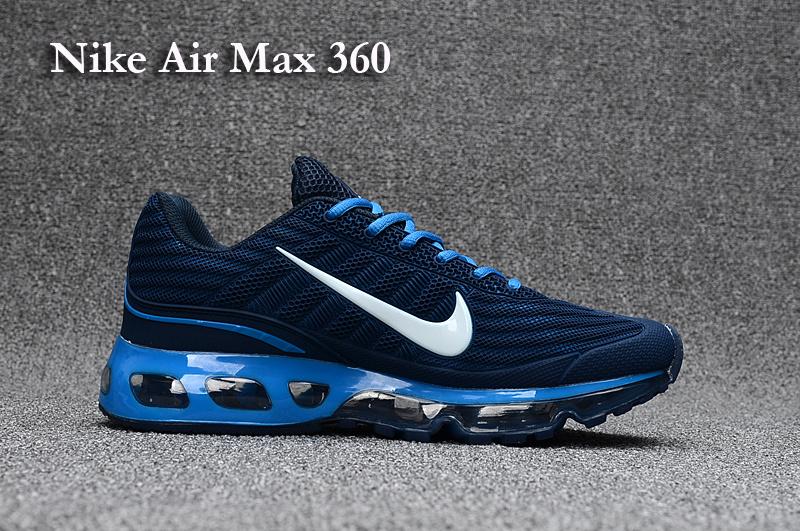 Mens Nike Air Max 360 Kpu Tpu Shoes NavyWhite TopDeals