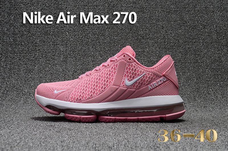 premium selection 6fa4b 73c6c ... shoe flyknit pink white ah8050 610 38986 9003f  hot nike air max 270  flair kpu pink white womens running shoes 6d24f 6bf9f