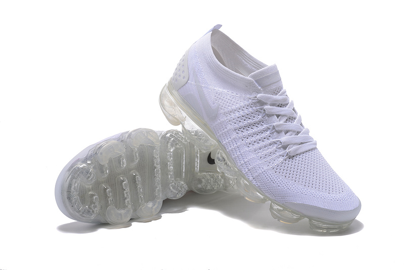 wholesale dealer 5c1bf 1344a Nike Air VaporMax Flyknit 2 TPU Triple White Women's Men's Running Shoes  NIKE-ST000581