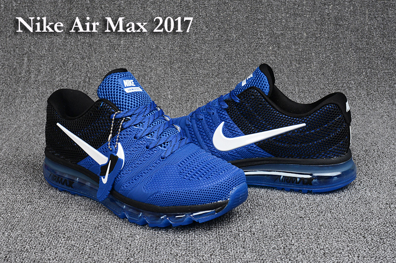 nike air max 2017 blue black white