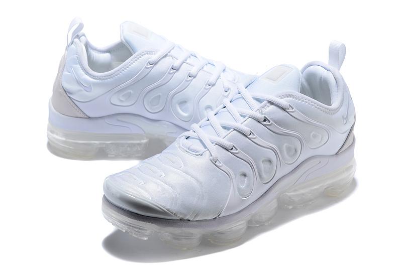 buy online 4110d 77576 Nike Air Max Plus TN 2018 Triple White Men's Running Shoes NIKE-ST001953