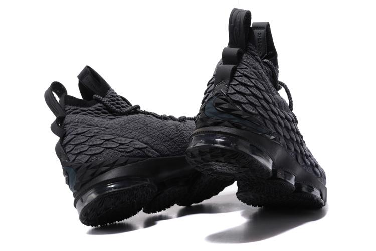 a442b81c684 Nike LeBron James 15 Grey Black Men s Basketball Shoes NIKE-ST001798 ...