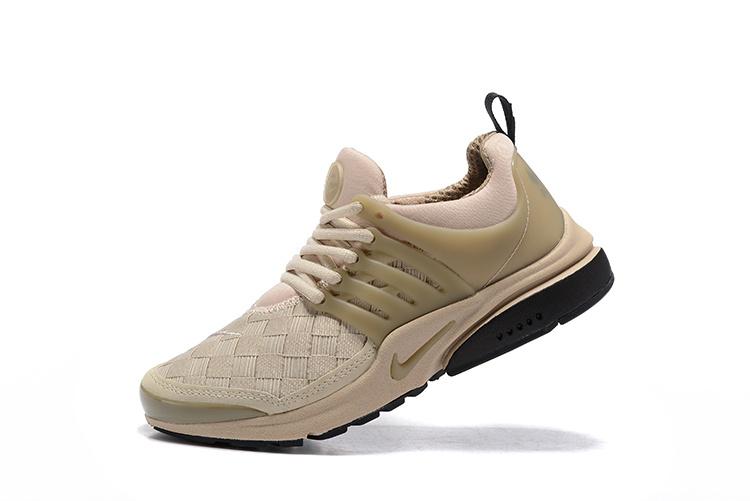 newest bf3fe bebb2 Nike Air Presto SE Woven Olive Khaki Black Men's Women's Running Shoes  848186-200