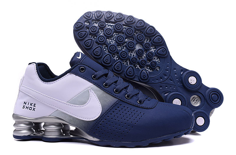 ... Nike Shox Deliver Deep Blue White NZ Men s Running Shoes ... 6bc07359e