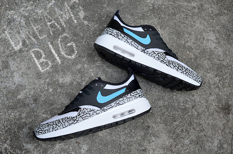 Nike Air Max 1 Ultra Essential Atmos Elephant Print Men's Running Shoes Sneakers NIKE ST001066