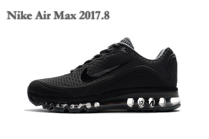 Discount Nike Air Max 2017 KPU Royal Blue Red Bkack White 849560 703 Trainers Men's Running Shoes