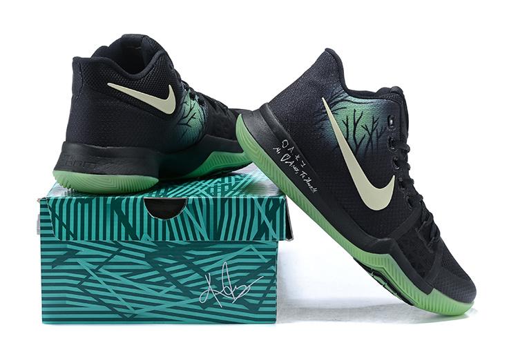 eae8ee0e20d Kyrie Irving Dons Nike Kyrie 3 Fear PE Against the Orlando Magic ...