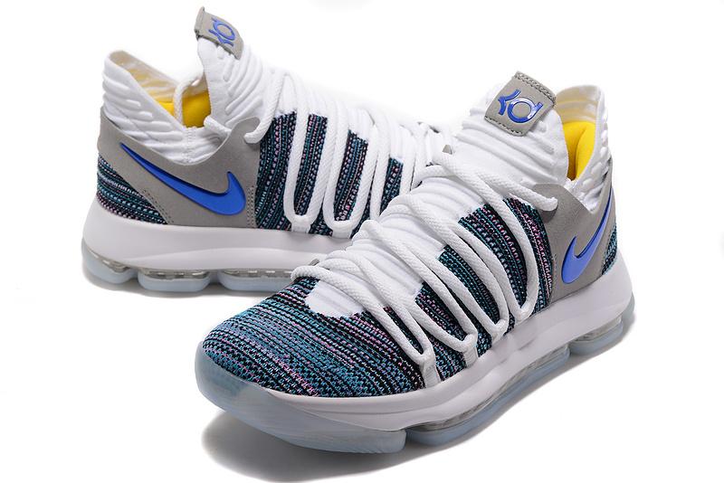 667c67dea1e8 Nike Zoom KD 10 Limited EP White Black Black Men s Basketball Shoes ...
