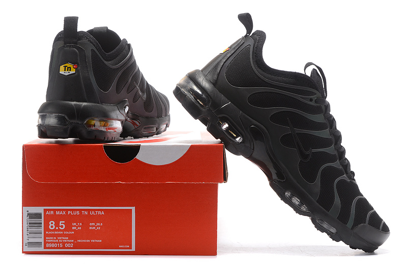 the best attitude 97051 90b1e Nike Air Max Plus TN Ultra Tuned 1 Black Reflective Iridescent 898015 002  Mens Womens Running Shoes 898015-002  WithTheSale.com