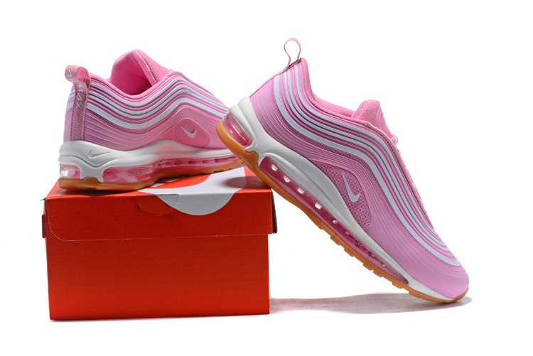 brand new d974e aaf42 Nike Air Max 97 UL'17 PRM 2018 Hyper Pink White Women's Running Shoes  NIKE-ST000818