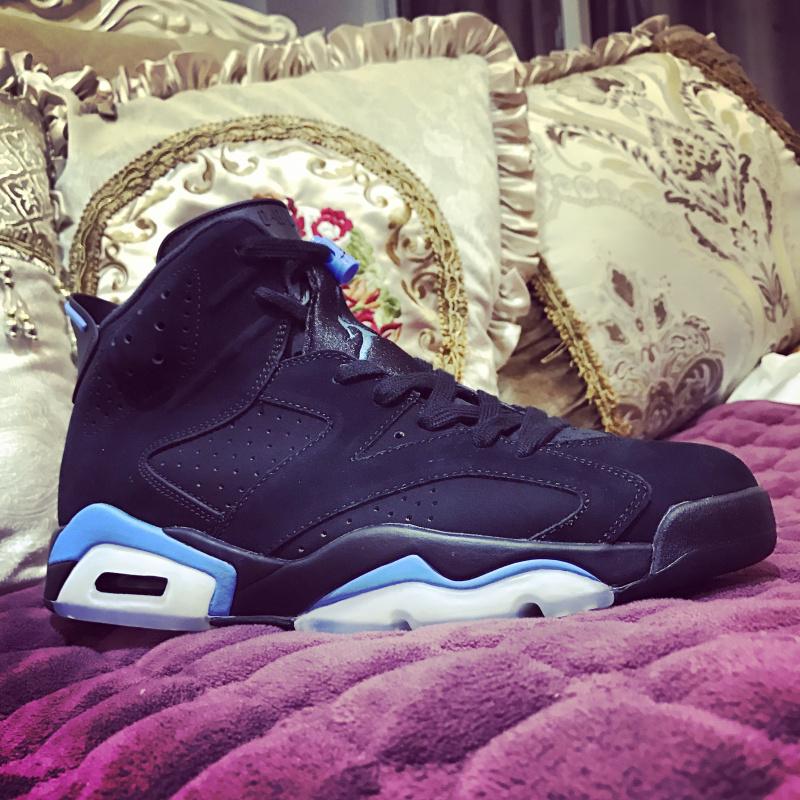 buy online bca16 66cec Nike Air Jordan 6 Retro University Blue Releases in December Mens Athletic  Basketball Shoes 384664-006