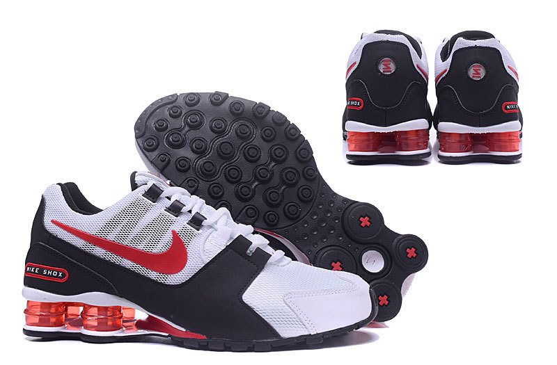 best sneakers 85a54 2fd90 Nike Shox Avenue NZ White Black ...