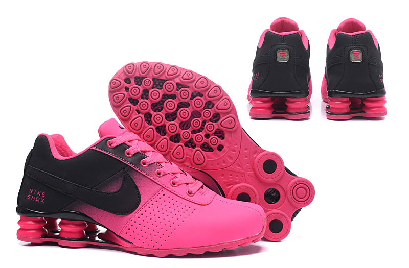 size 40 5bc91 fd618 Nike Shox Deliver Black Baby Pink NZ Women's Running Shoes NIKE-ST000368