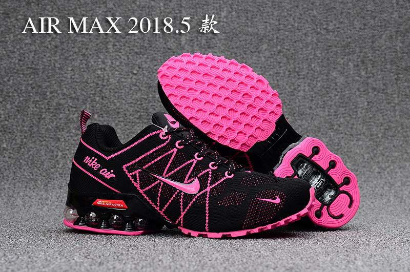 brand new 80226 961af Nike Air Ultra Max 2018. 5 Shox Pink Black Women's Running Shoes  NIKE-ST000334