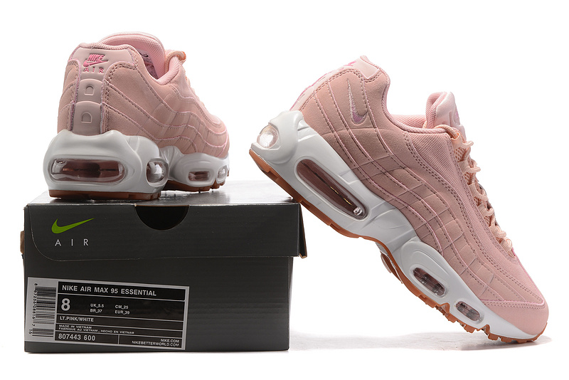 best authentic a2802 aa40b Nike Air Max 95 Essential Pink Oxford ...