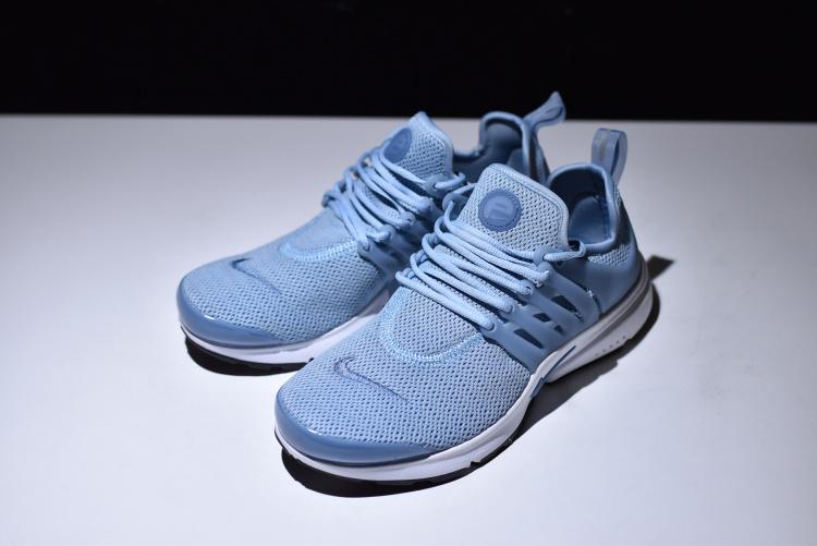 Nike Air Presto Blue Grey Black White Ocean Fog Women s Running Shoes fe87a5f94