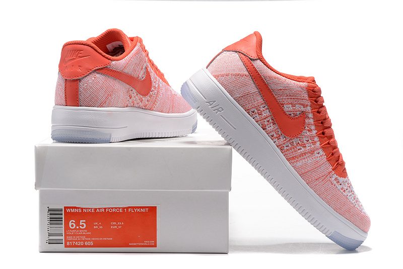 on sale c7a1f 86403 Nike Air Force 1 Ultra Flyknit Low Gym Red Sail Women's Casual Shoes  Sneakers 817420-605
