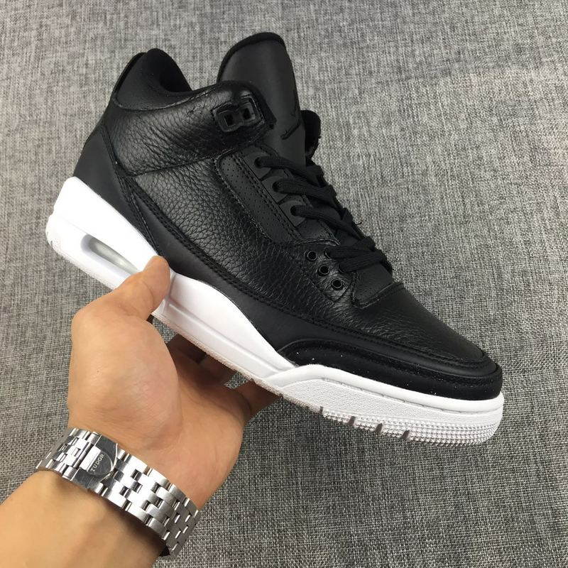 223eb59c8779 Nike Air Jordan 3 Retro Cyber Monday Black White Mens Athletic ...