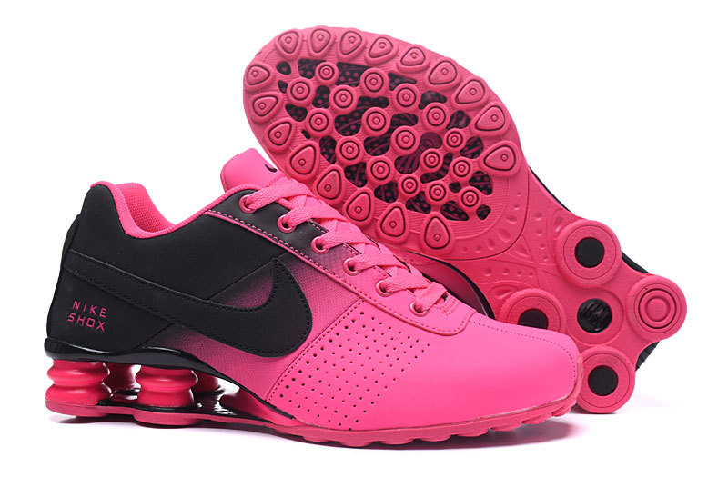 best website f906f e99c5 Nike Shox Deliver Black Baby Pink NZ Women s Running Shoes
