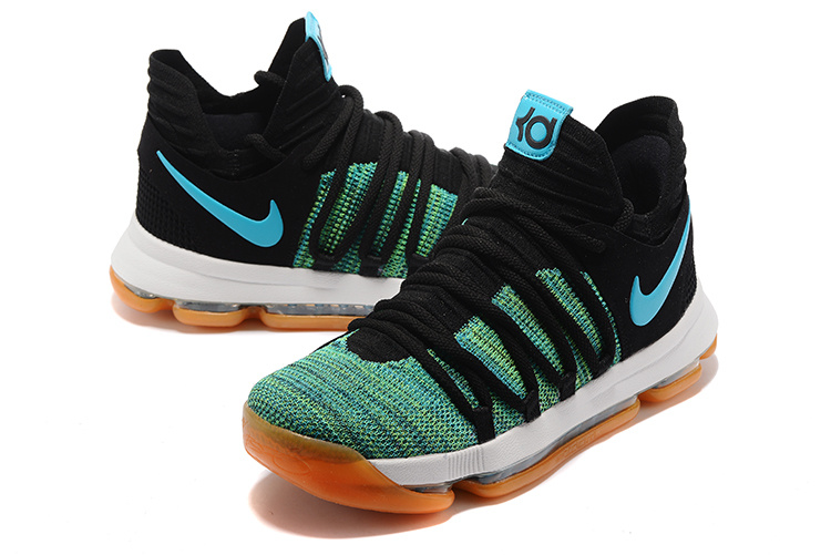 best website e4750 46c36 promo code for green blue mens nike kd 10 shoes 24dbf 47484
