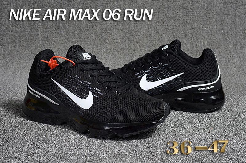lowest price 2350d f36d1 ... closeout nike air max 06 run flyknit black white womens mens running  shoes 47d5b 4c3fc