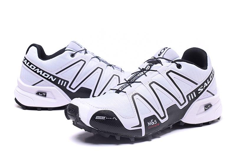 new arrival c8776 abcb0 Salomon Speedcross 3 White Black Women s Athletic Outdoor Hiking Shoes