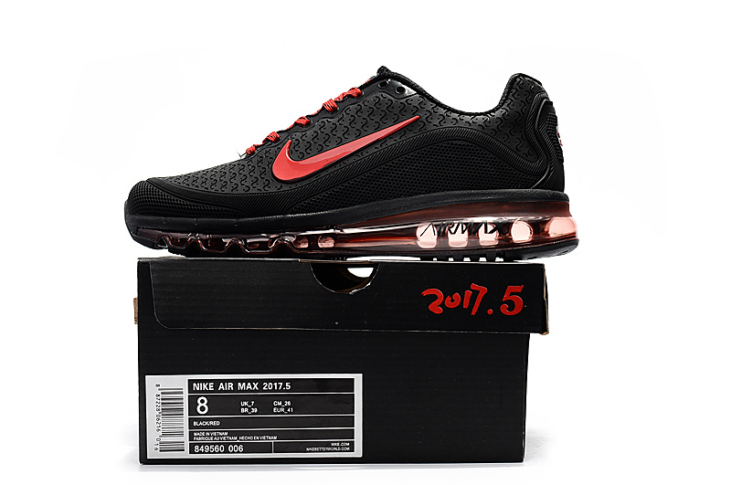 a2883d3ea Nike Air Max 2017. 5 KPU Black Red Men s Running Shoes NIKE-ST000807 ...
