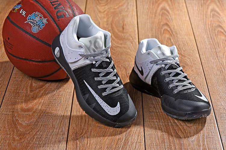 9bb8d36213a6 Nike KD 5 Trey IV EP Black History Month Oreo Black White Men s Basketball  Shoes
