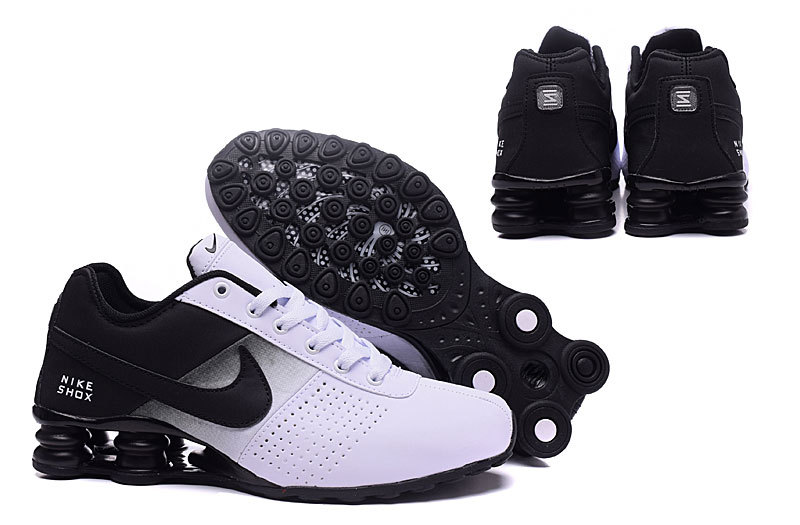 online store 5bdab 49a20 Nike Shox Delive White Black NZ Mens Running Shoes NIKE-ST00
