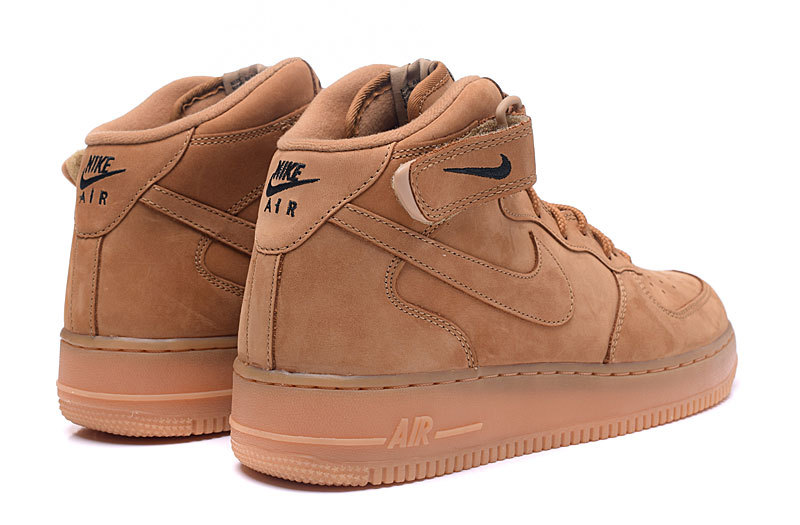 free shipping 83f09 c0756 Nike Air Force 1 Mid 07 Wheat Men's Casual Shoes Sneakers 715889-200