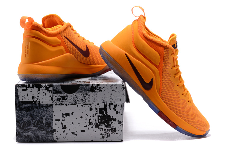 f50d9b997688a Nike Lebron Witness II EP 2 Cavaliers Yellow Wine Men s Basketball Shoes
