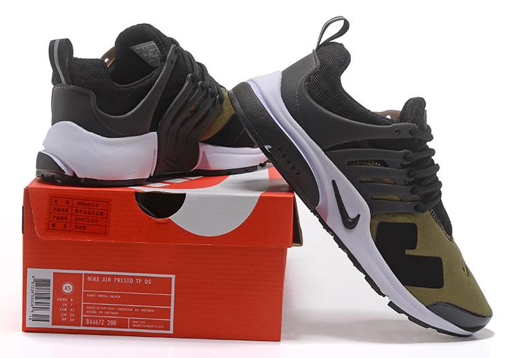 5531f3b6905e Acronym x Nike Air Presto Low Olive Cargo Khaki Black Men s Trainers ...
