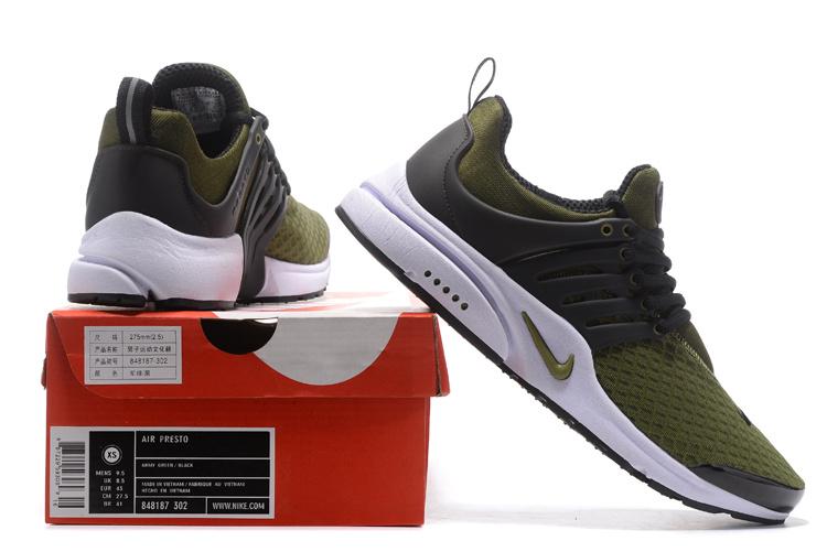 519fd99ba7 Nike Air Presto TP QS Legion Green White Men's Running Shoes 848187 ...