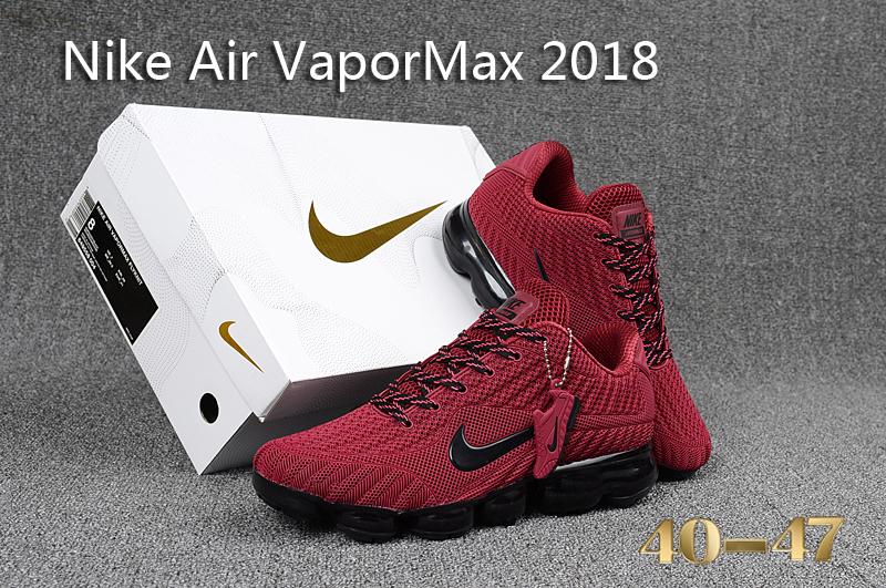 93ec653aa82df0 ... Running Shoes›  Nike Air Vapormax Shoes›. Nike Air Vapor Max 2018 KPU  Burgundy Black Men s ...