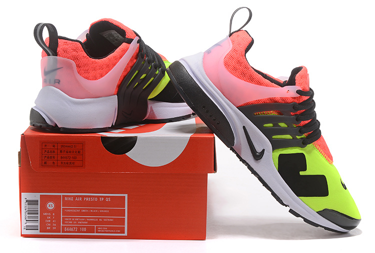 Acronym x Nike Air Presto Low White Black Hot Lava Black Men s ... a5c9cd2d48