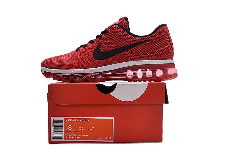 finest selection 8940c b7064 Nike Air Max 2017 KPU Red Black White ...