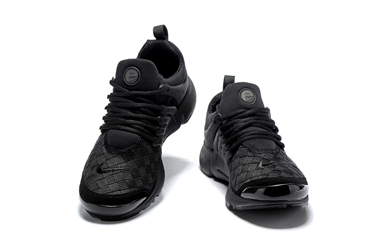 official photos 0f2e8 b1903 Nike Air Presto SE Woven Triple Black Men s Women s Running Shoes