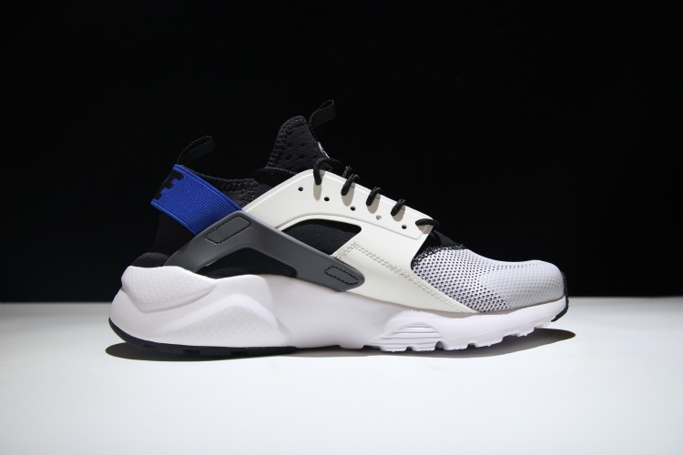 e42b066fa901 Nike Air Huarache Ultra White Black Dark Grey Racer Blue Clearance Men s  Casual Shoes