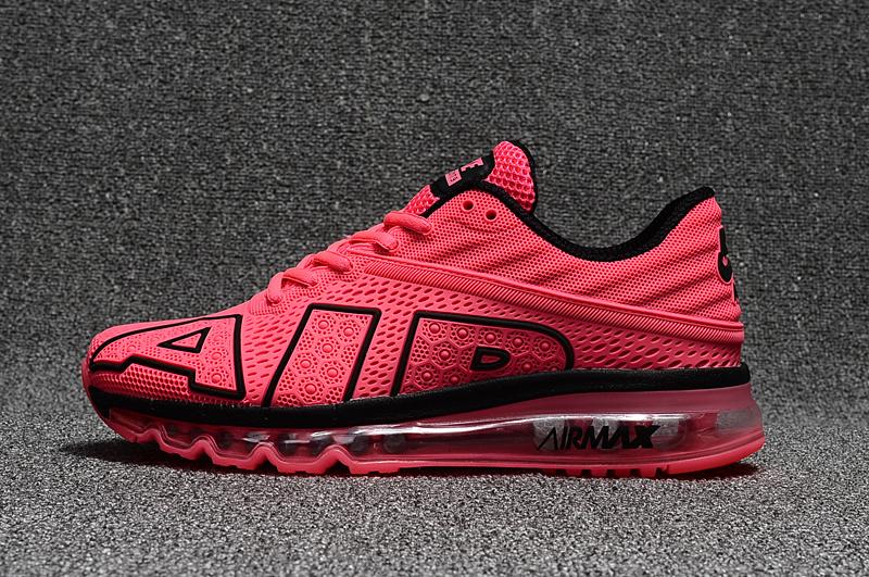 2d99e898df Nike Air Max Flair 2017 Kpu Hyper Pink Black Women's Running Shoes ...