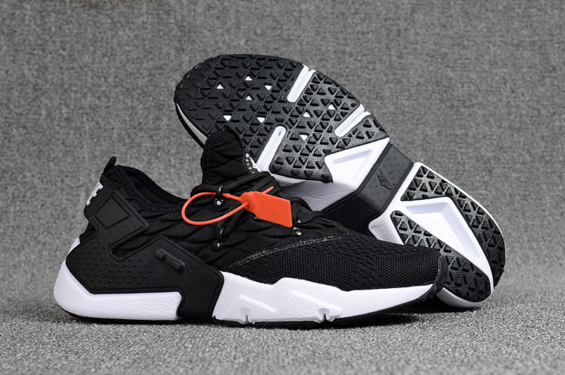 Nike Air Huarache Drift Prm Flyknit Black White Mens Womens