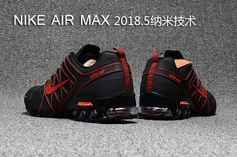 buy online 25cee afa69 Nike Air Max 2018. 5 Shox KPU Black Red Men's Running Shoes 869559-002