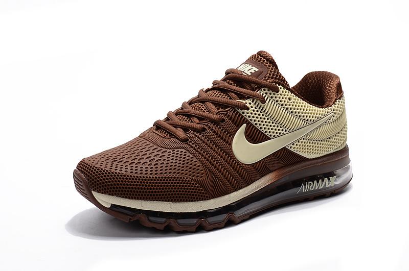 Shoes Men's 849560 312 Max Air Running Brown Nike Kpu 2017 nqTxPwaxg
