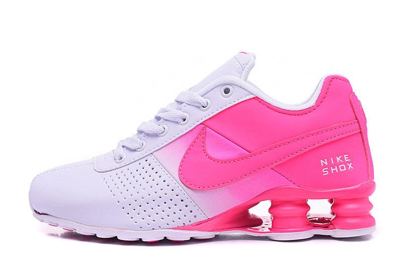 533fc932ddbb74 Nike Shox Deliver Hyper Pink White NZ Women s Running Shoes NIKE ...