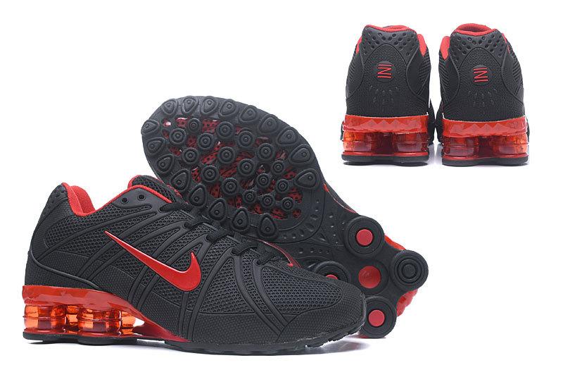 competitive price 831c6 82be4 ... buy nike shox kpu black red mens 30f25 75b8e