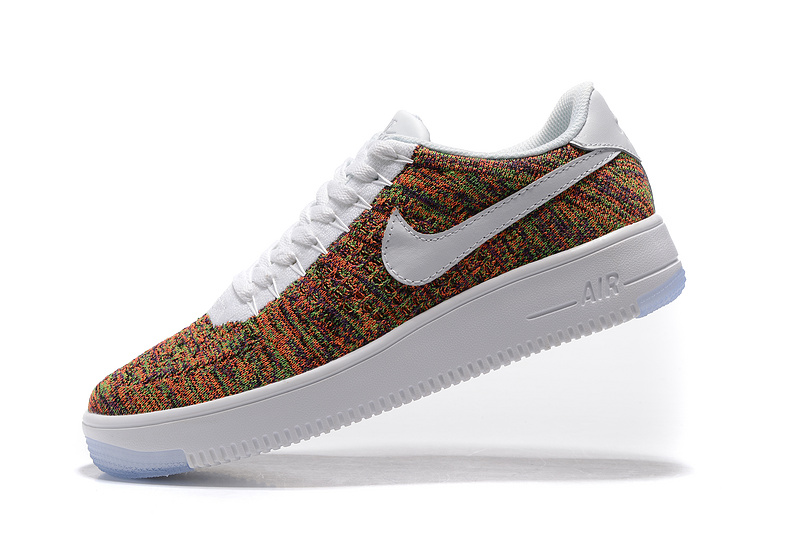 Sneakers Men's Nike Air Force Multicolor Casual Shoes Women's 817420 Flyknit 402 Ultra 1 Low hQrdtCxs