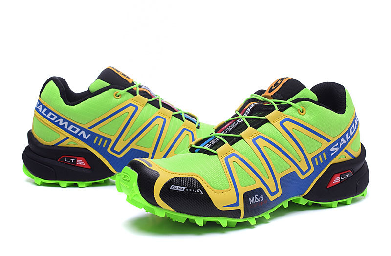 size 40 4f5ec e157a Salomon Speedcross 3 CS Volt Yellow Black Mens Trail Running Shoes